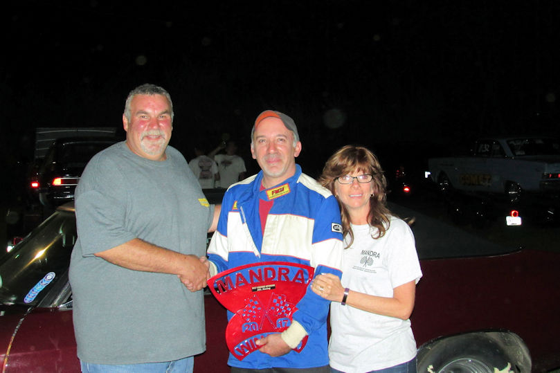 Mike Volpe Winner Island Dragway